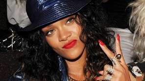 Grammy Award-winning pop star Rihanna deleted her Instagram