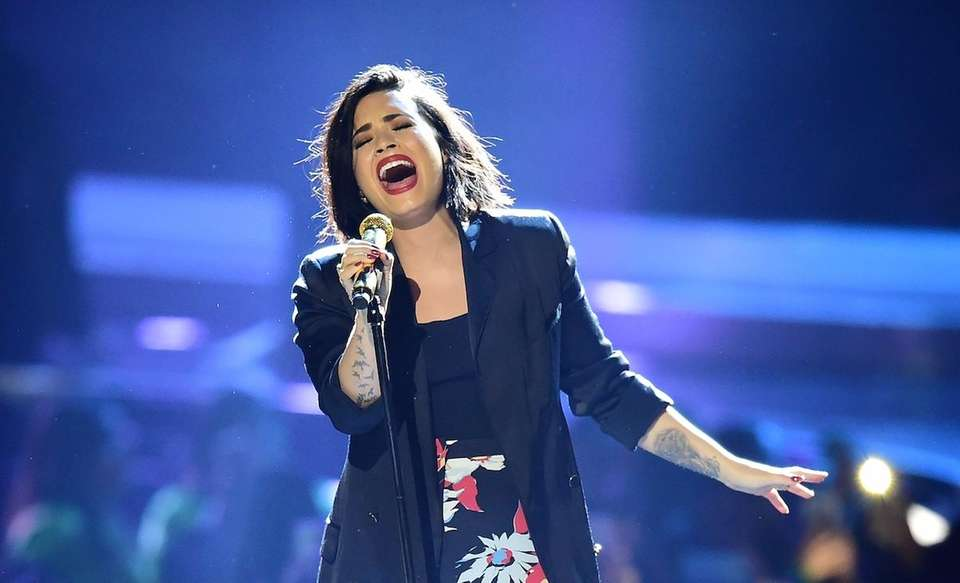 Singer Demi Lovato announced via Twitter on June