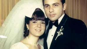 Cindy and Michael Federico on their wedding day
