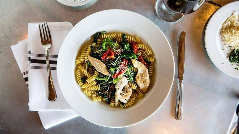 Pasta is well-represented on the menu at MaBella