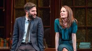 Josh Radnor and Elizabeth Reaser in