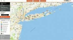 In November, PSEG debuted a new online map