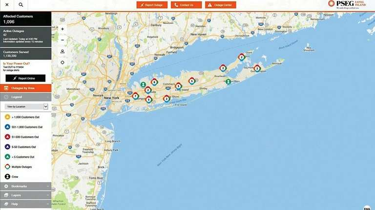 PSEG safety procedure causes customers to see spike in outages | Newsday