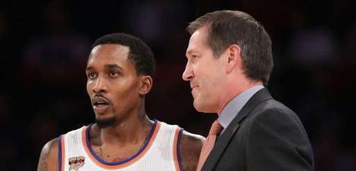 Brandon Jennings of the New York Knicks talks