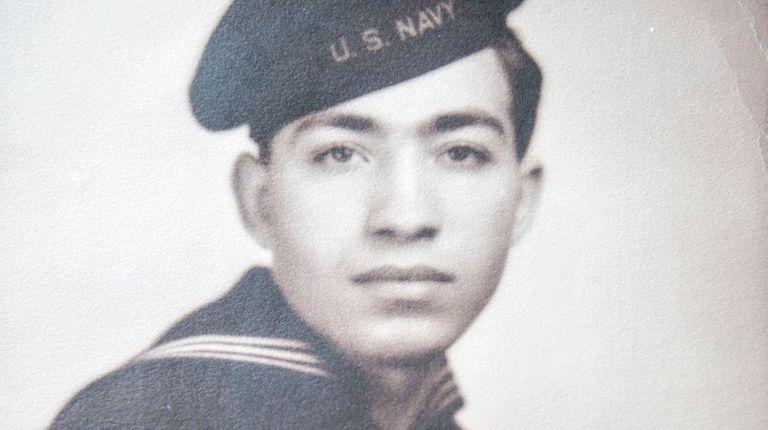An undated photo of Pearl Harbor survivor Gerard