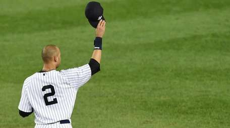 Yankees captain Derek Jeter announced in February that