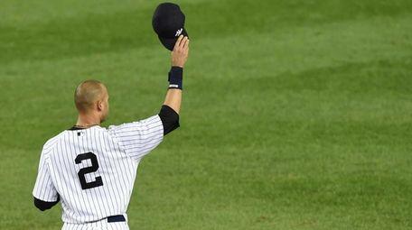 Yankees captain Derek Jeter announced in February that