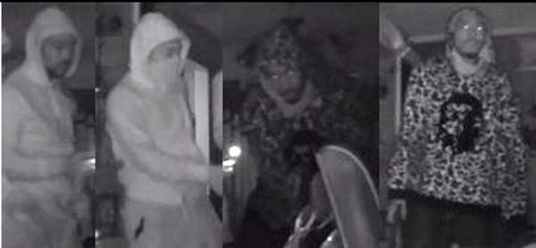 Nassau County police released surveillance images of suspects