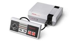 The NES Classic Edition, a miniaturized version of