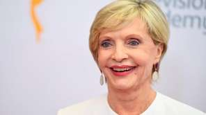 Florence Henderson arrives at the Emmy Awards in