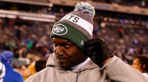 Jets head coach Todd Bowles walks off the