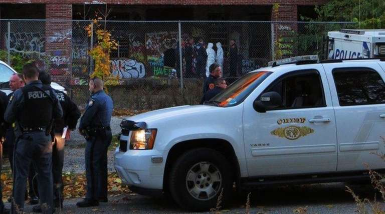 Police respond to the shuttered Kings Park Psychiatric