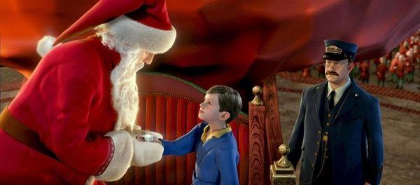 Tom Hanks voices Santa Claus, a boy and