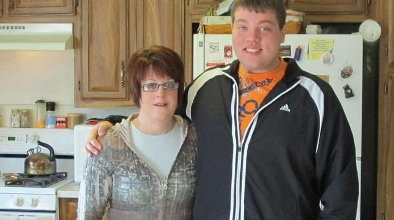 Katy Wiley and her son, Kyle. Katy Wiley