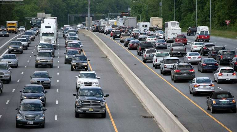 In heavy traffic, a sleep-deprived driver can be