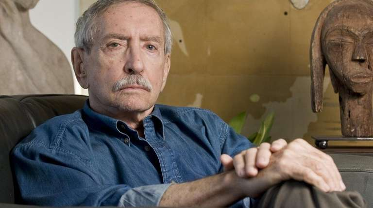 Playwright Edward Albee, above at his home in