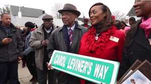 Village of Hempstead residents and town officials unveiled