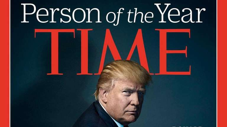 The Time magazine Person of the Year for