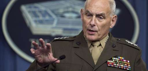 Then-U.S. Southern Command Commander Gen. John Kelly speaks