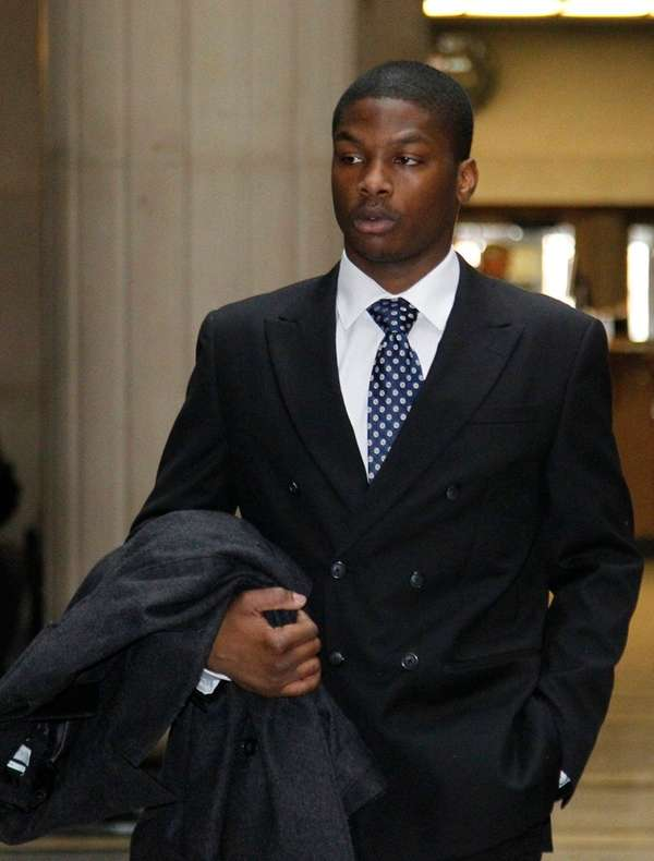 Kyle Howell, 23, of Westbury was arraigned Tuesday,