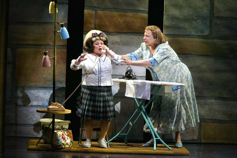 CARLY JIBSON (Tracy Turnblad), making her Broadway debut,