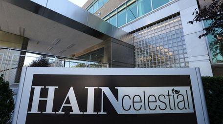 Hain Celestial's headquarters on Marcus Avenue in Lake