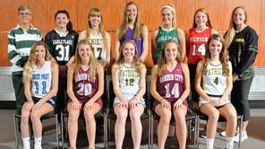 The Newsday All-Long Island field hockey team poses