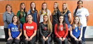 The Newsday All-Long Island girls volleyball first team