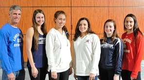 The Newsday All-Long Island varsity girls swimming team