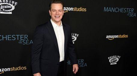 Matt Damon has been criticized for his role