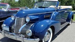A 1939 Cadillac Fleetwood 75 owned by Jim