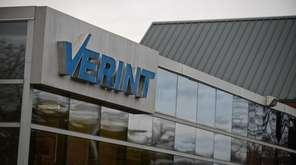 Software company Verint Systems Inc., based in Melville,