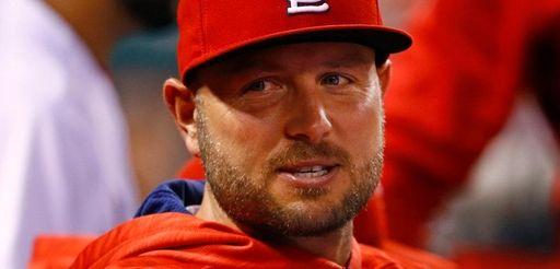 St. Louis Cardinals' Matt Holliday is seen in
