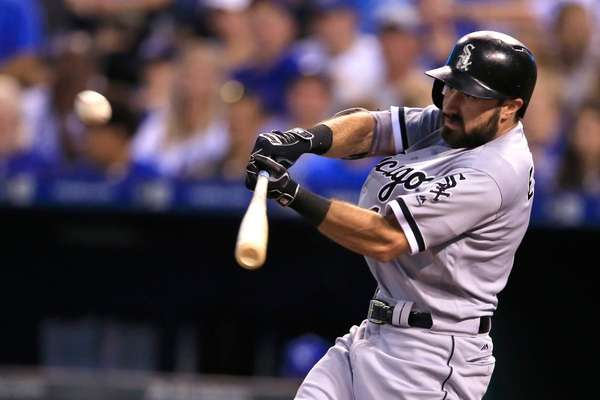 Chicago White Sox's Adam Eaton during a baseball