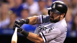 Chicago White Sox's Adam Eaton during a baseball