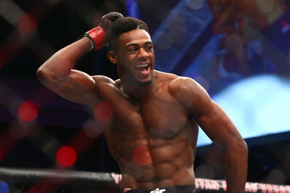 Bantamweight Aljamain Sterling of Uniondale defeated Johnny Eduardo
