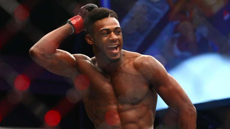 Bantamweight Aljamain Sterling of Uniondale defeated Johnny Eduardo