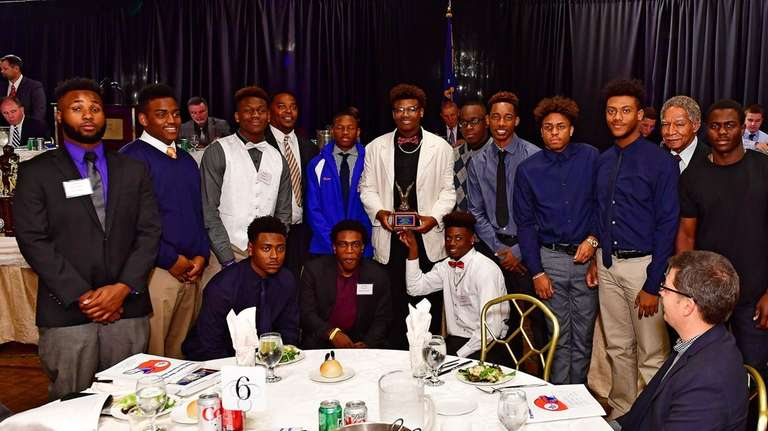 Malverne is presented with the Most Improved Team
