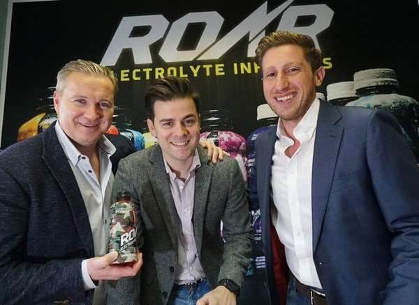 The management team of Roar Beverages at their