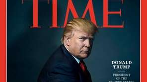 Donald Trump was named Time's Person of the