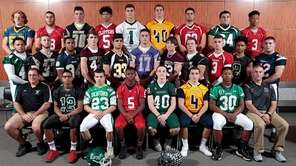 Football team (top row, l-r) Tim Mullane, West