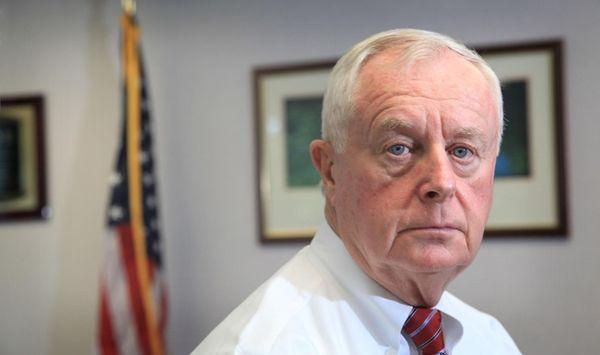 Suffolk County District Attorney Thomas Spota is shown