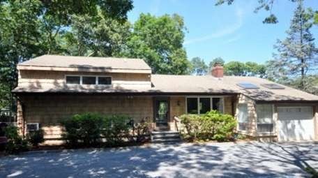 This Sag Harbor split-level, listed for $889,000 in