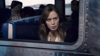Emily Blunt in a scene from the mystery