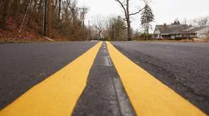 New paving has been completed on Shore Road