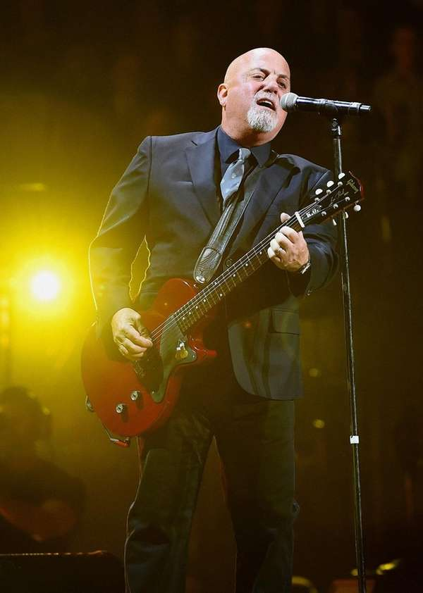 Billy Joel to play 39th consecutive Madison Square Garden concert