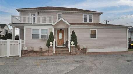 This Bayville home includes a two-bedroom apartment with