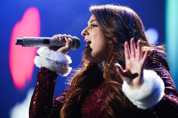 Meghan Trainor performs at 102.7 KIIS FM's Jingle