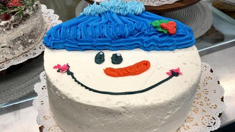 Gluten-free cake by baker Bridget Brennan of Bare