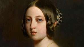 A painting of Queen Victoria in 1842, by